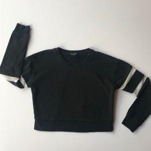Express cropped sweatshirt